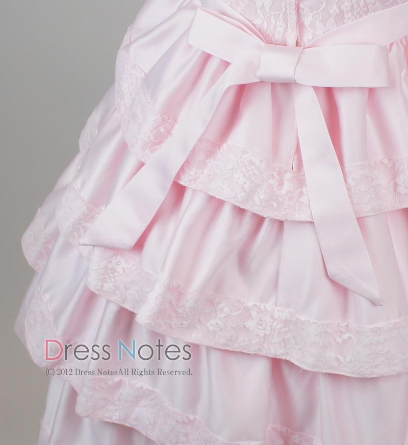 子供ドレス「バラード」ピンク D8019-6