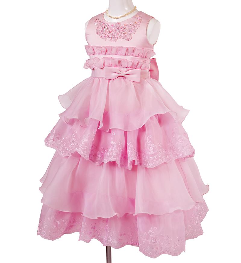 子供ドレス「リエラ」ピンク