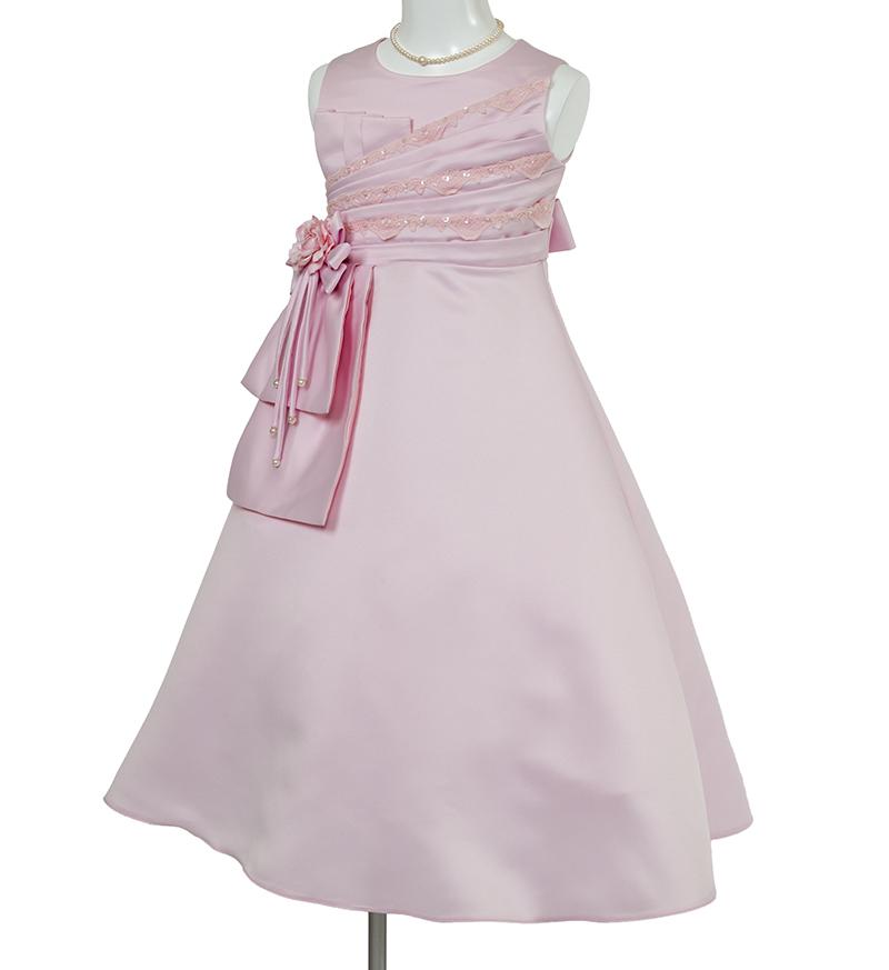 子供ドレス「ノクターン」ピンク