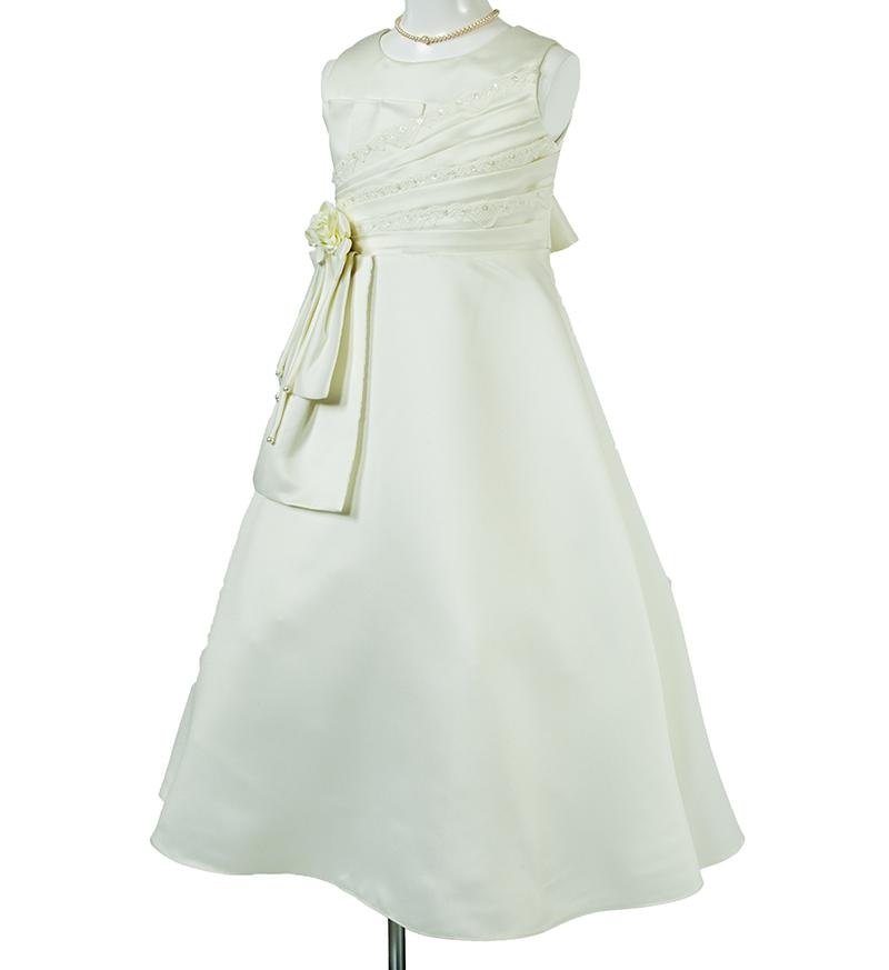 子供ドレス「ノクターン」パールホワイト