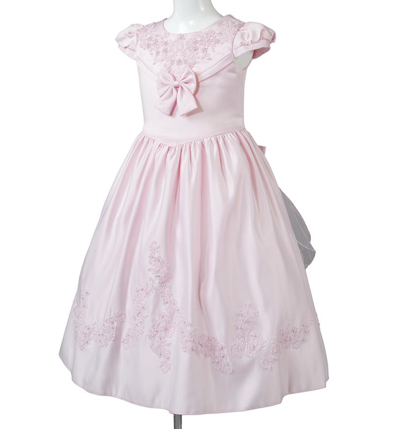 子供ドレス「ウノ2」ピンク G8002_2-1