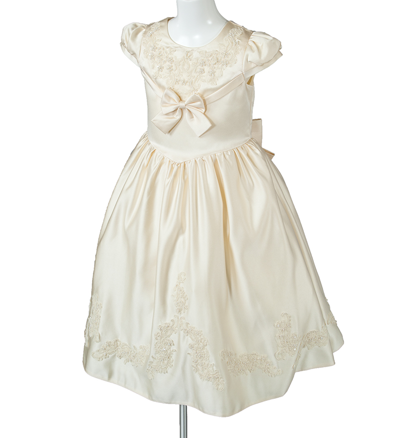 子供ドレス「ウノ2」アイボリー G8003_2-1