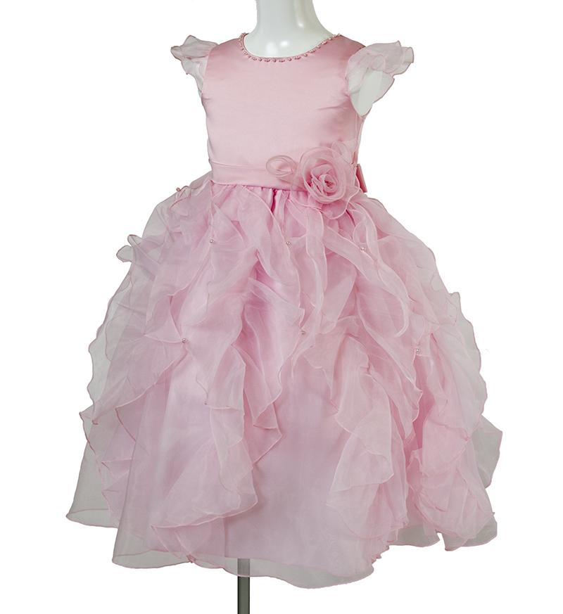 子供ドレス「サイア」ピンク