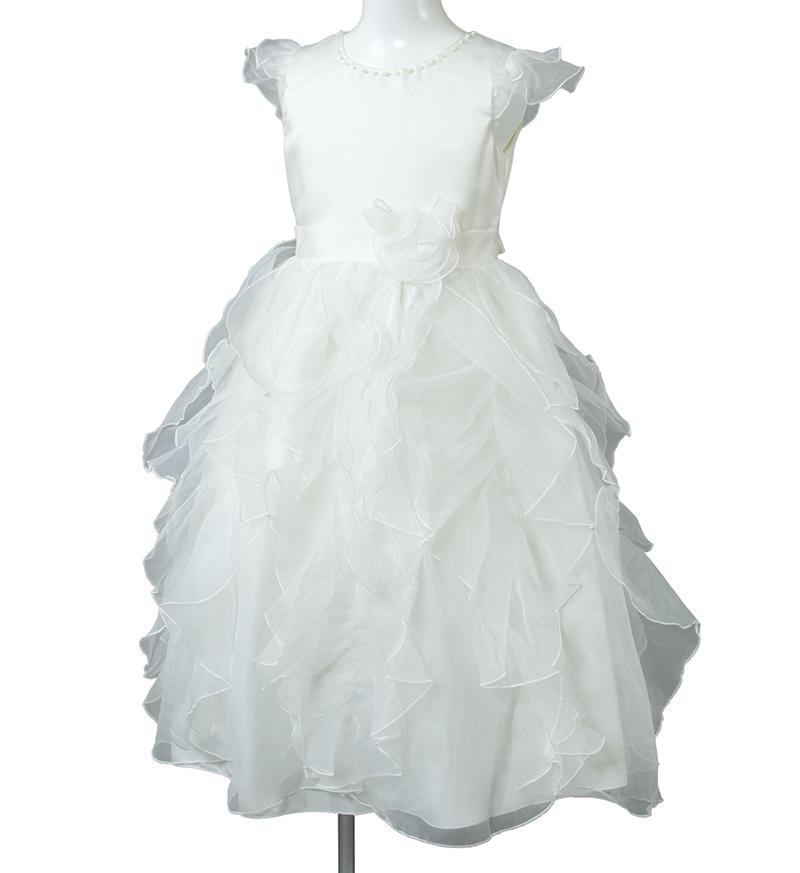 子供ドレス「サイア」ホワイト