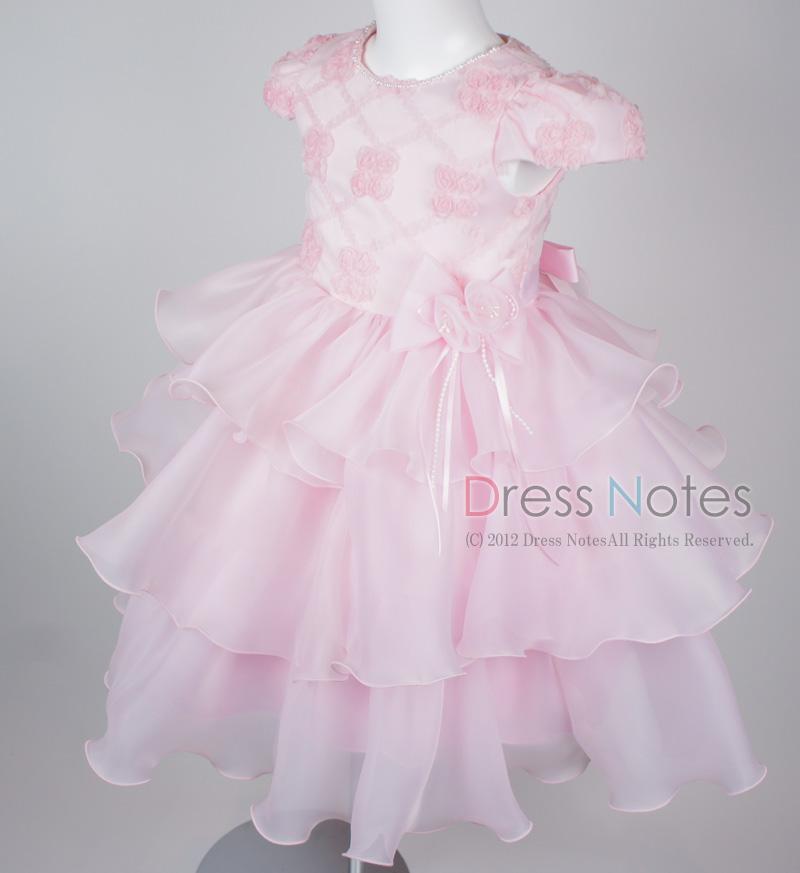 子供ドレス「フォーレ」ピンク H8004