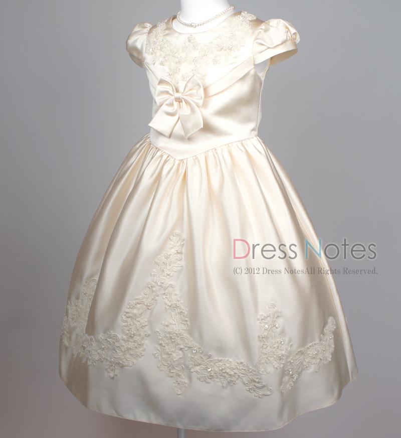 子供ドレス「ウノ2」アイボリー G8003_2
