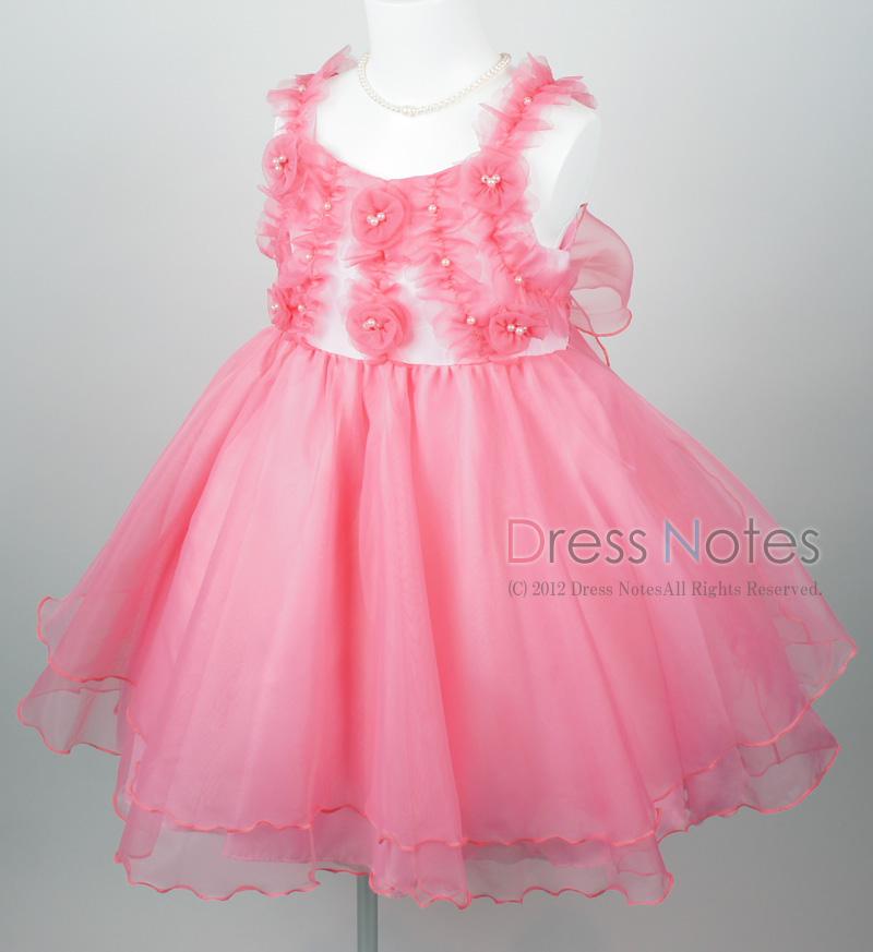 子供ドレス「アイベル」ピンク G8008