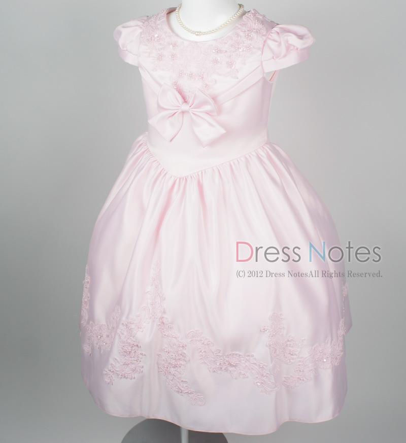 子供ドレス「ウノ2」ピンク G8002_2
