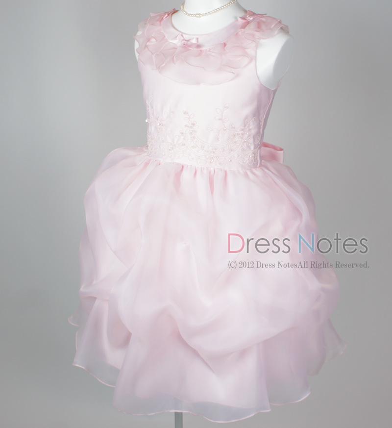 子供ドレス「アルコ・ミディアム」ピンク G8005