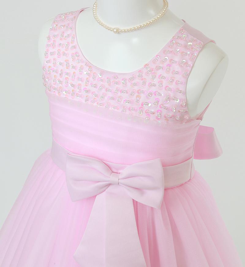 子供ドレス「エチュード」ピンク P2001-1