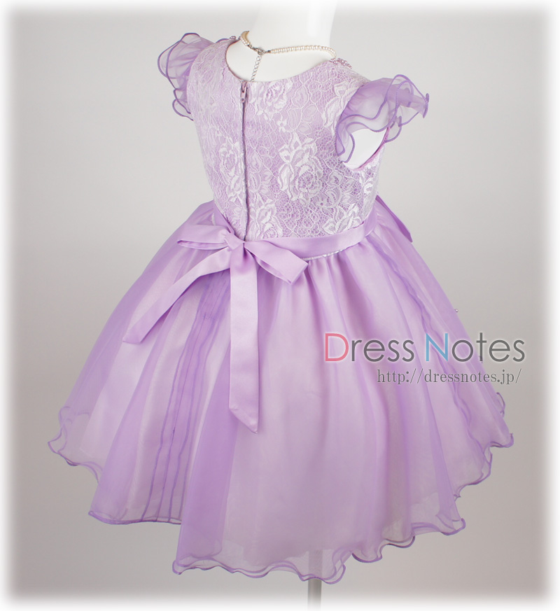 子供ドレス「シャコンヌ」バイオレット G8020-4
