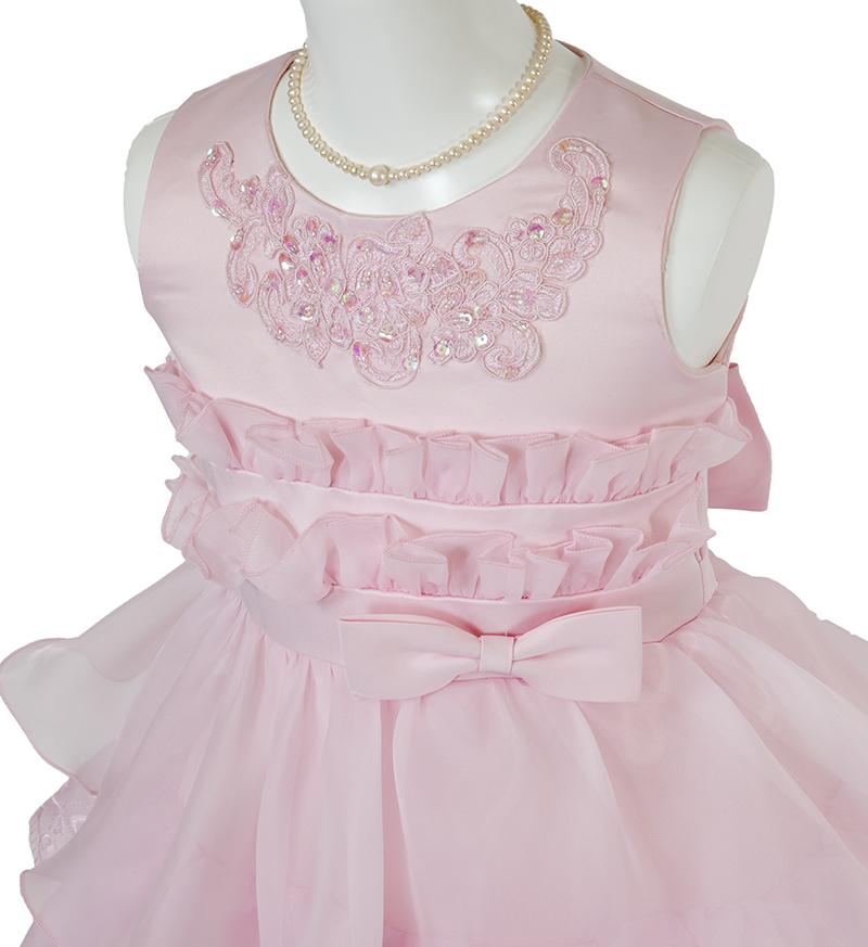 子供ドレス「リエラ」ピンク-1