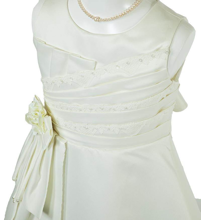 子供ドレス「ノクターン」パールホワイト-1