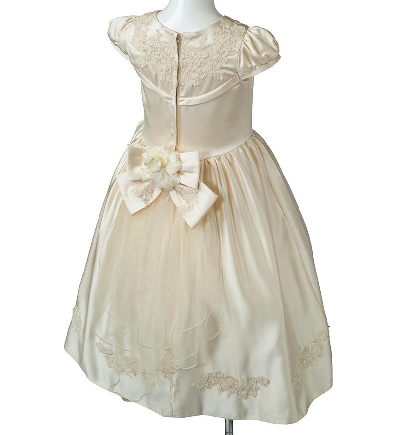 子供ドレス「ウノ2」アイボリー G8003_2-6