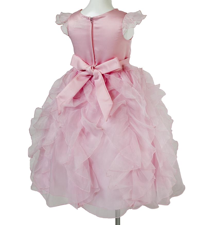 子供ドレス「サイア」ピンク-5