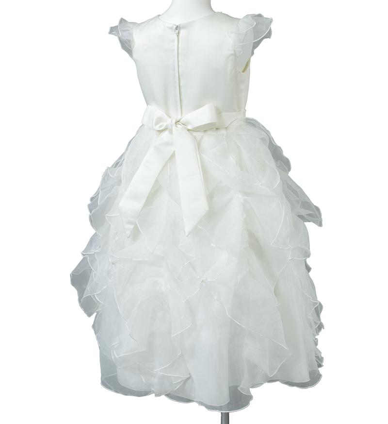 子供ドレス「サイア」ホワイト-6