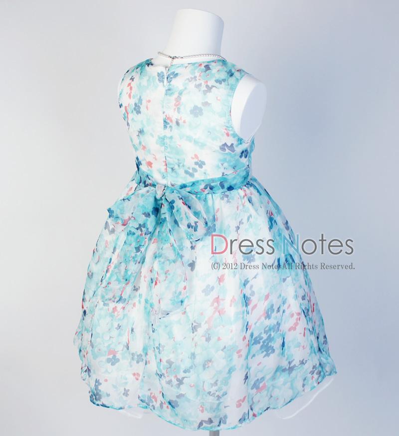子供ドレス「ソフィ」 ブルー B1028-1