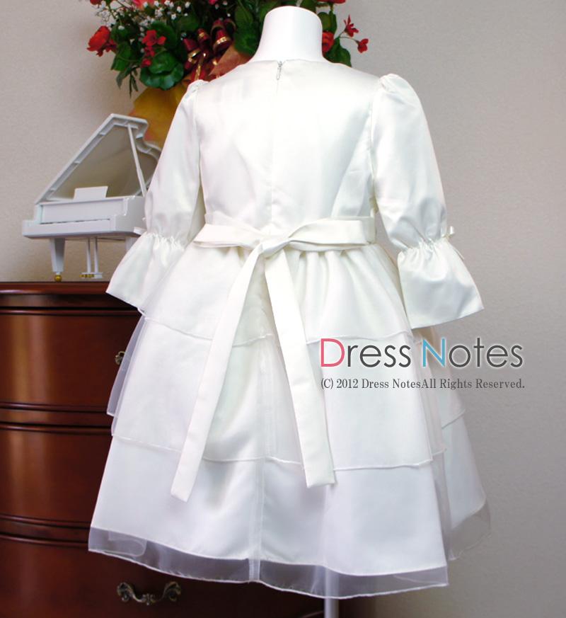 子供ドレス「メレンゲ」ホワイト A8003-4