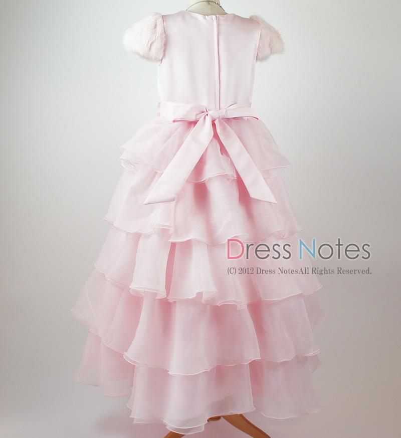 子供ドレス「カンタータ」 ピンク D8004-7
