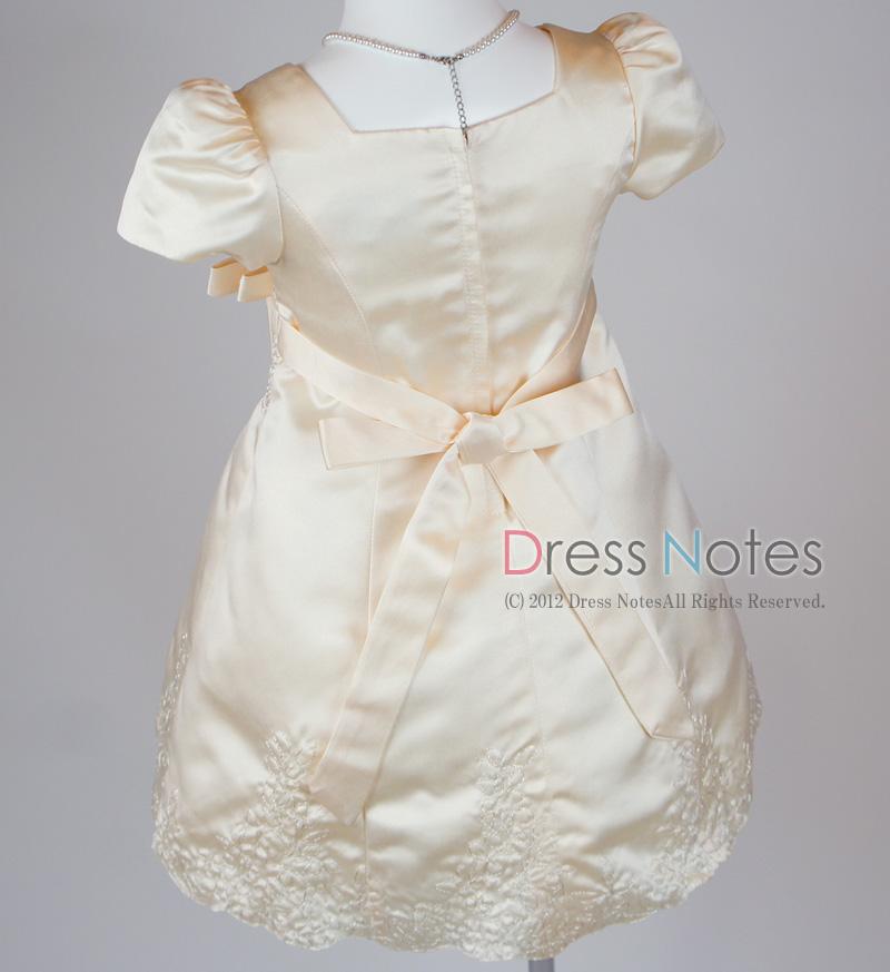 子供ドレス「オラトリオ」アンティックホワイト D8009-6