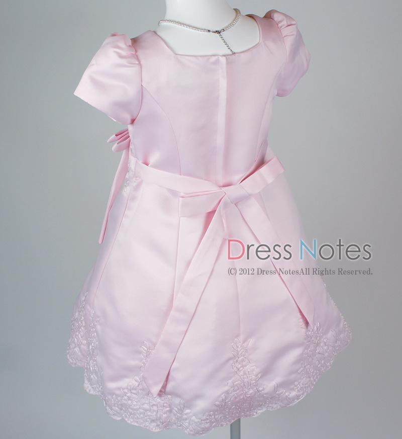 子供ドレス「オラトリオ」ピンク D8010-5