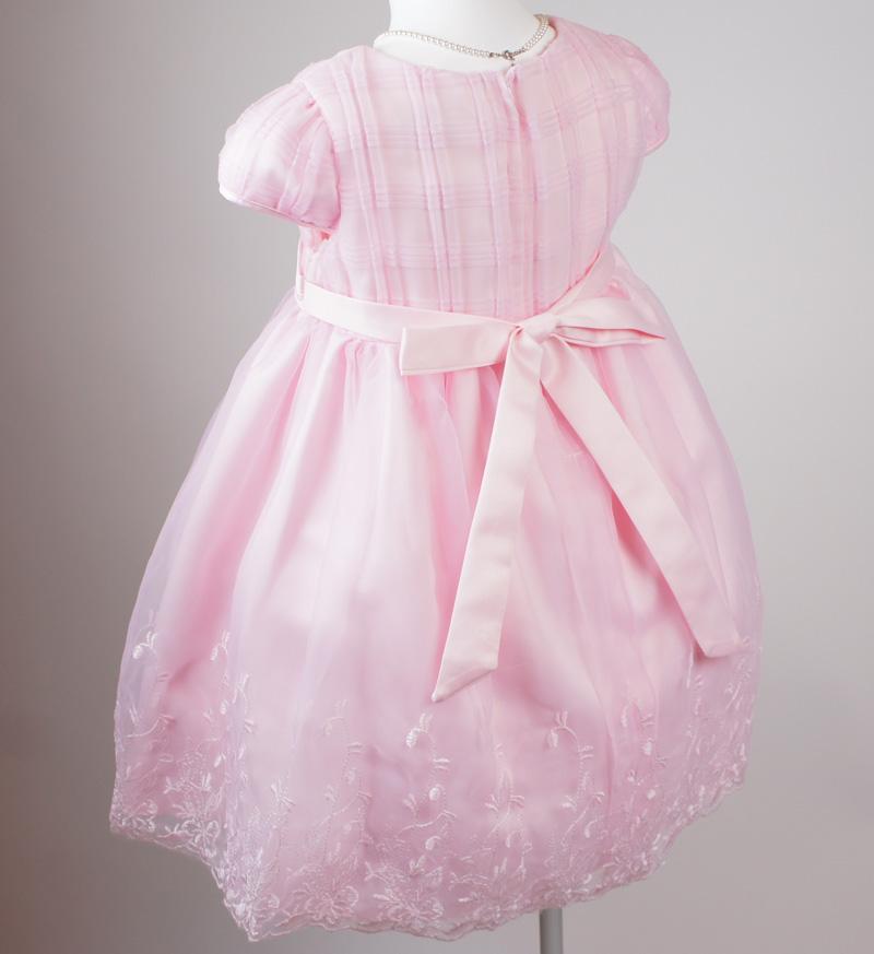 子供ドレス「カノン」ピンク D8012-7