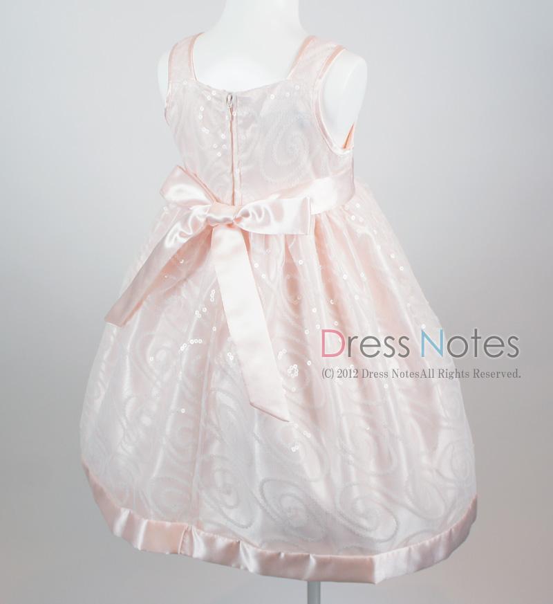 子供ドレス「オーロラ」ピンク I8003-4