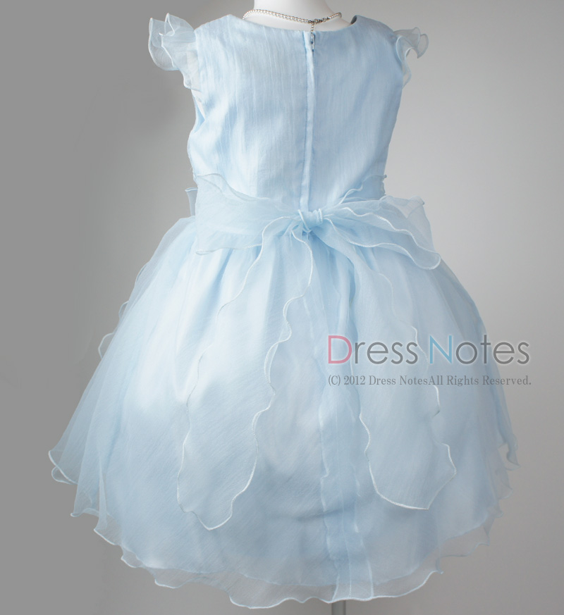 子供ドレス「スカルラッティ」ブルー G8001-4