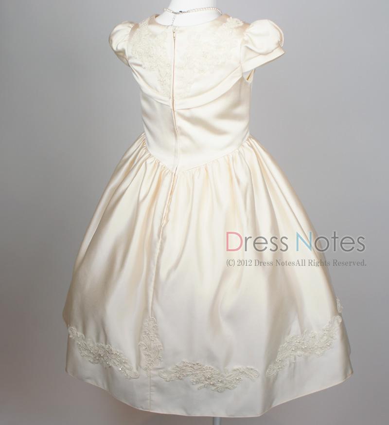 子供ドレス「ウノ」アイボリー G8003-4