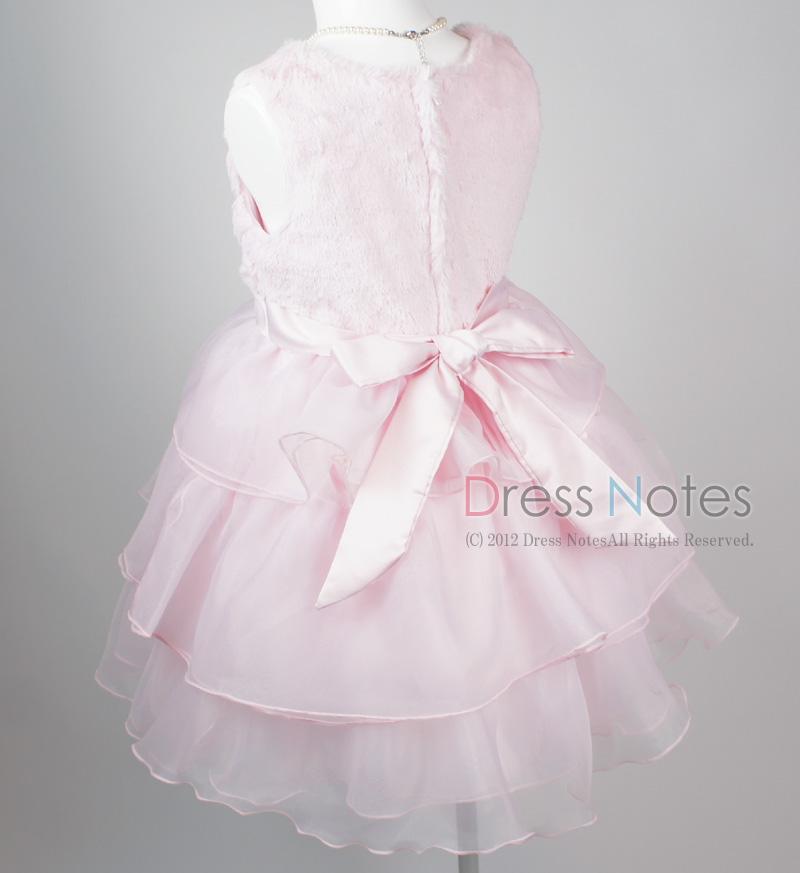 子供ドレス「アルパカドリーム」ピンク G8009-4
