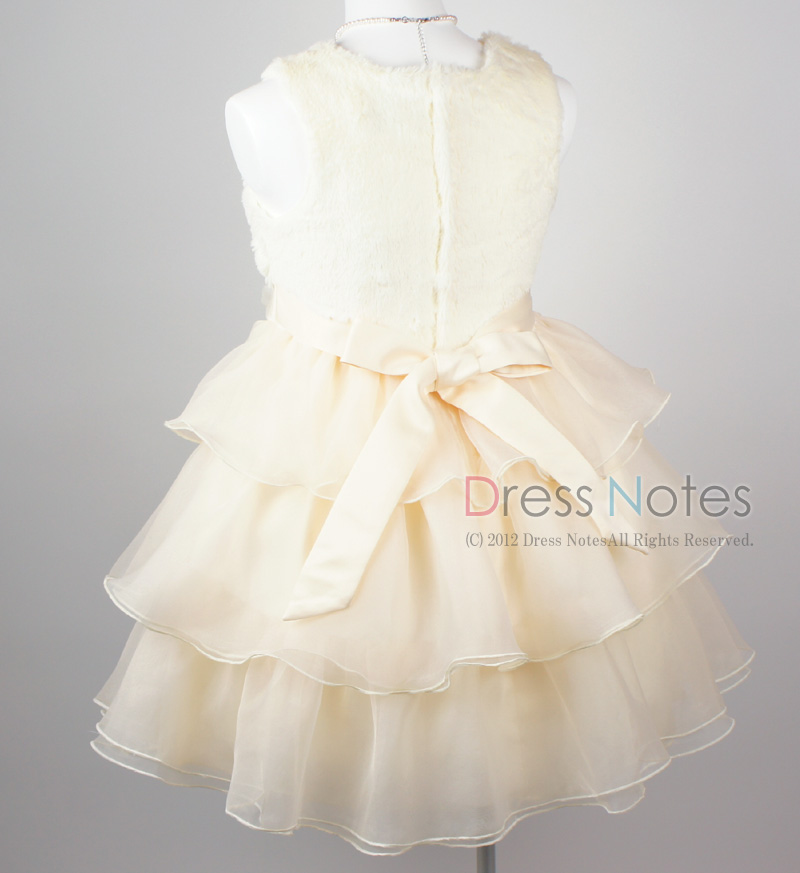 子供ドレス「アルパカドリーム」アイボリー G8010-4