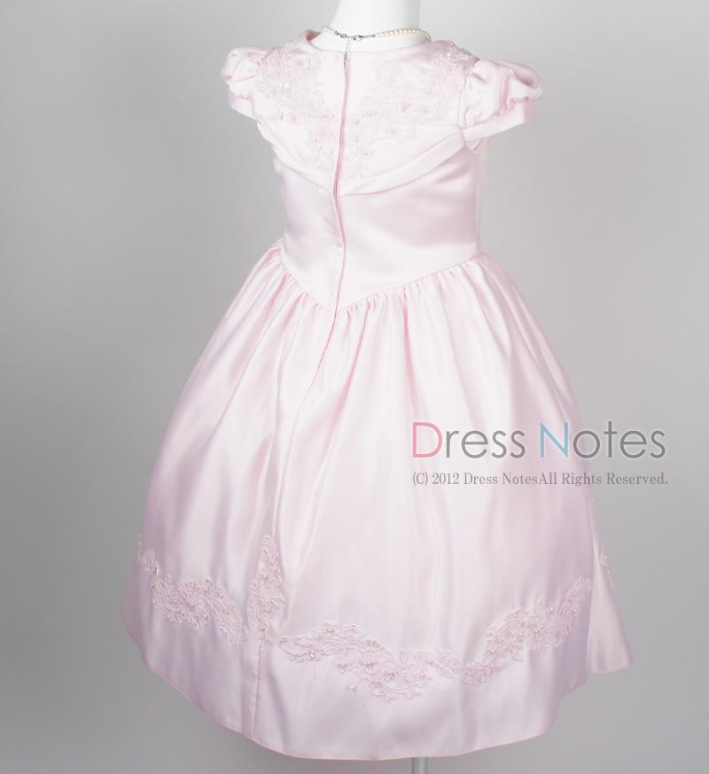 子供ドレス「ウノ」ピンク G8002-1
