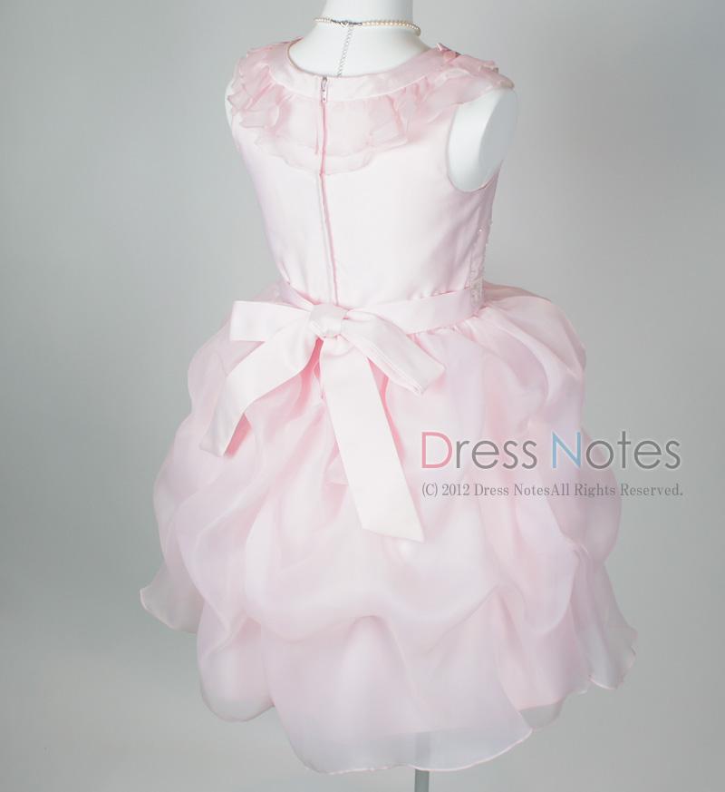 子供ドレス「アルコ・ミディアム」ピンク G8005-4