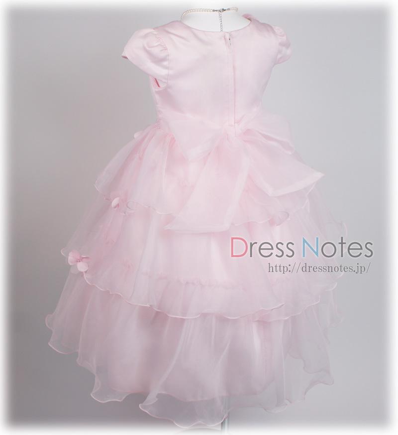 子供ドレス「フローラ・フローラ」ピンク G8018-6