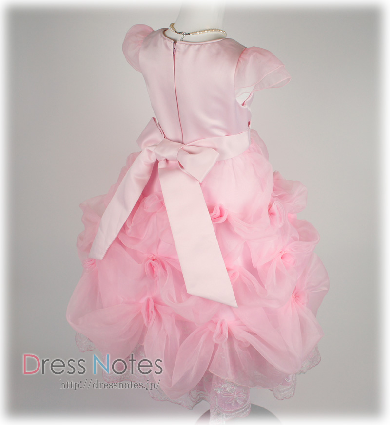 子供ドレス「ハーモニック」ピンク H8014-5