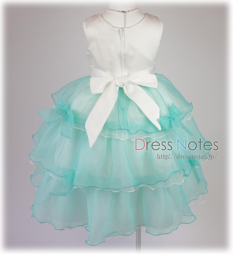 子供ドレス「バダジェフスカ」グリーン G8030-5
