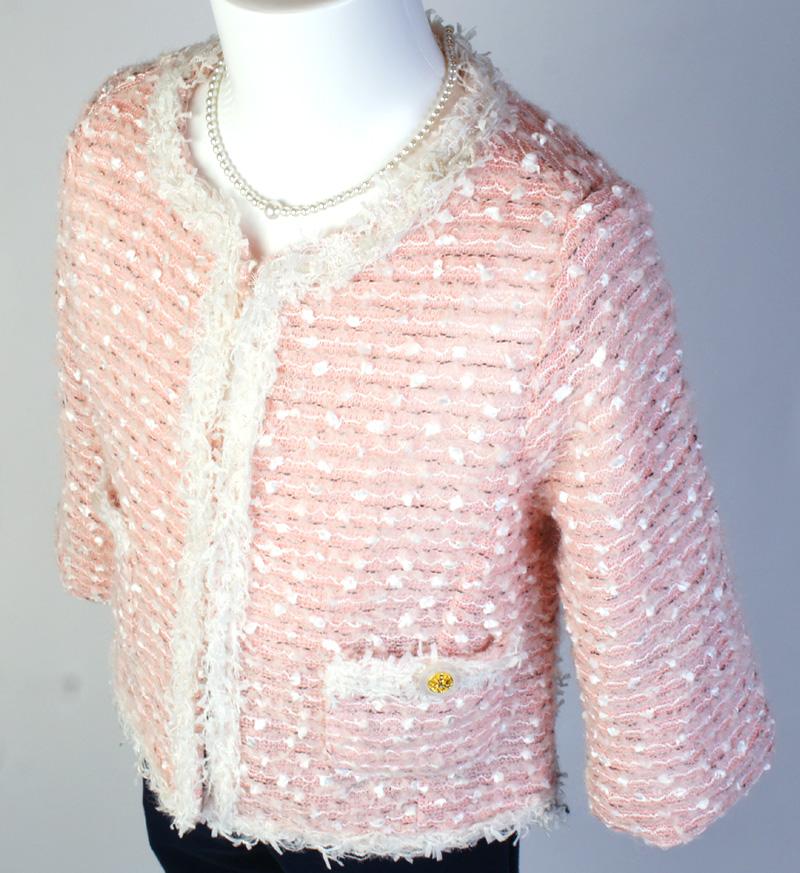 ジャケット「ミルフィーユ」ピンク A7001-1