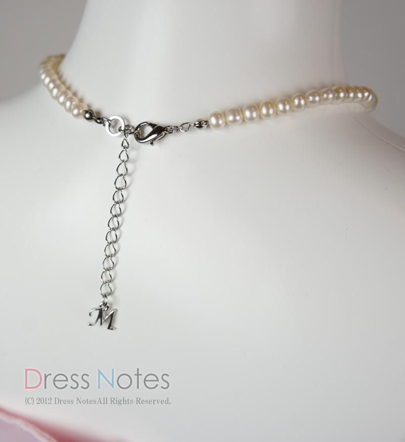淡水真珠ネックレス「ミューズ」42cm L0002-1