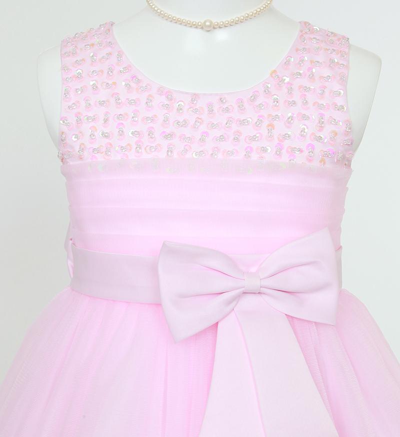 子供ドレス「エチュード」ピンク P2001-2
