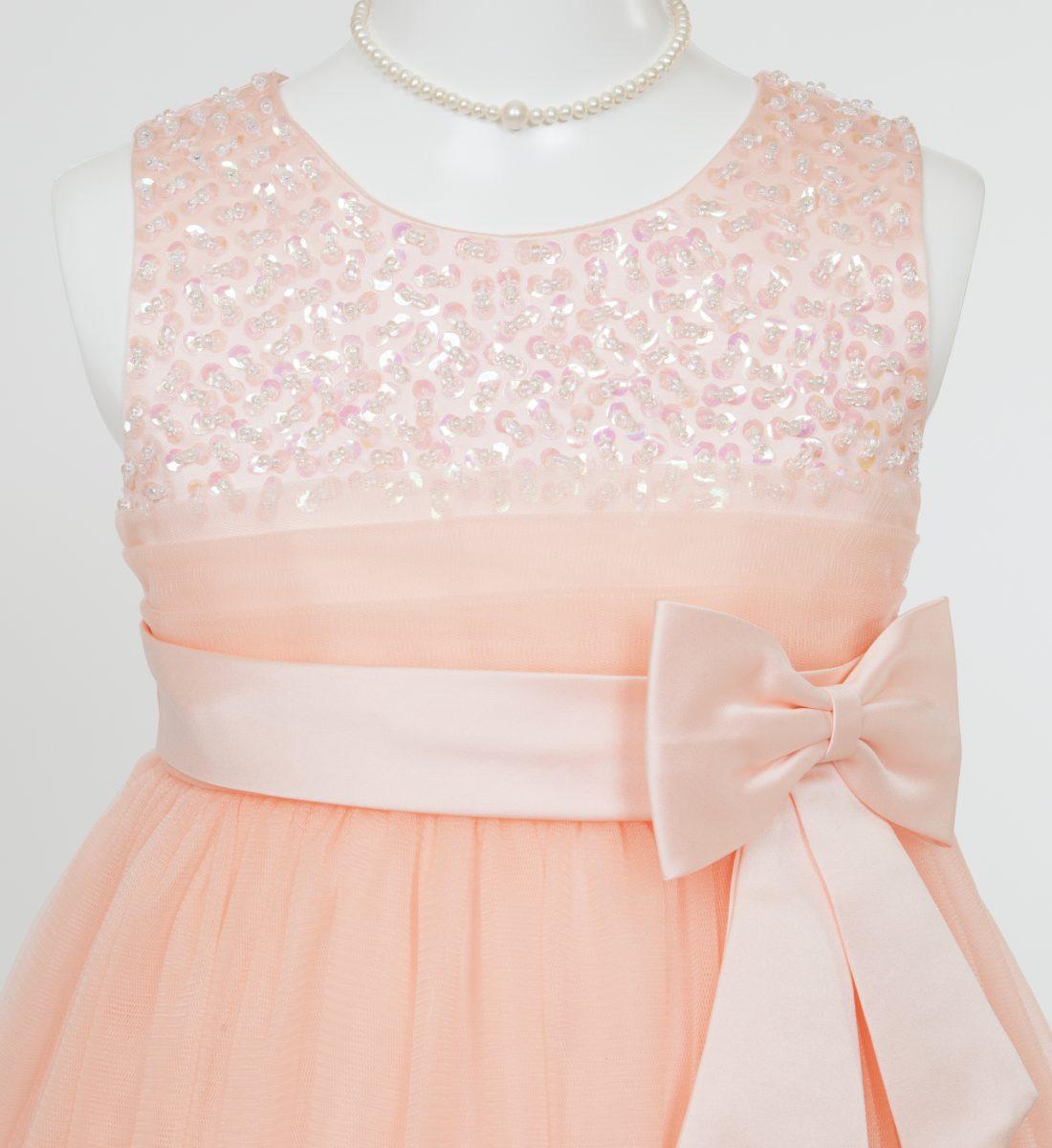 子供ドレス「エチュード」オレンジ P2004-2