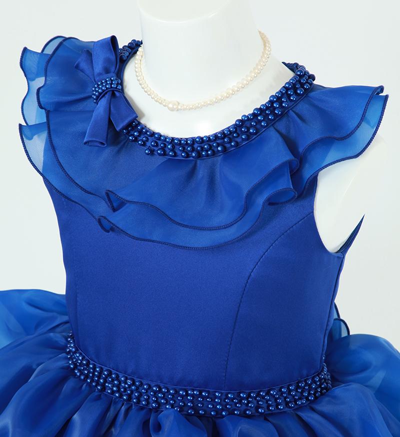 DressNotesのピアノ演奏用ドレス「アルドーレ2」スピリチュアルブルー-4