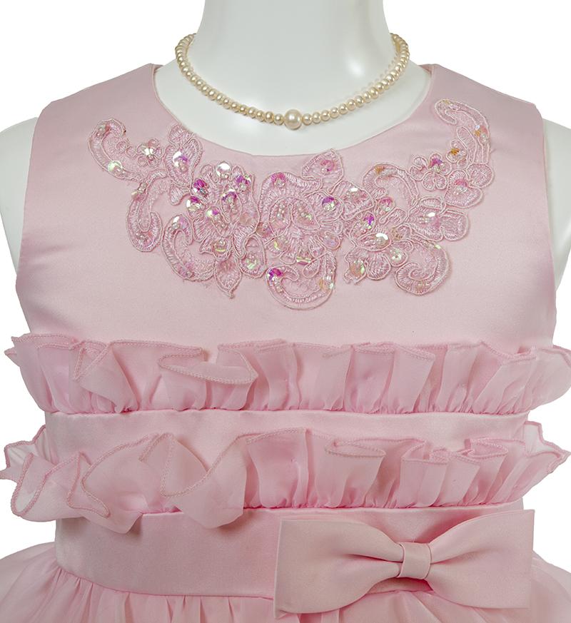 子供ドレス「リエラ」ピンク-2