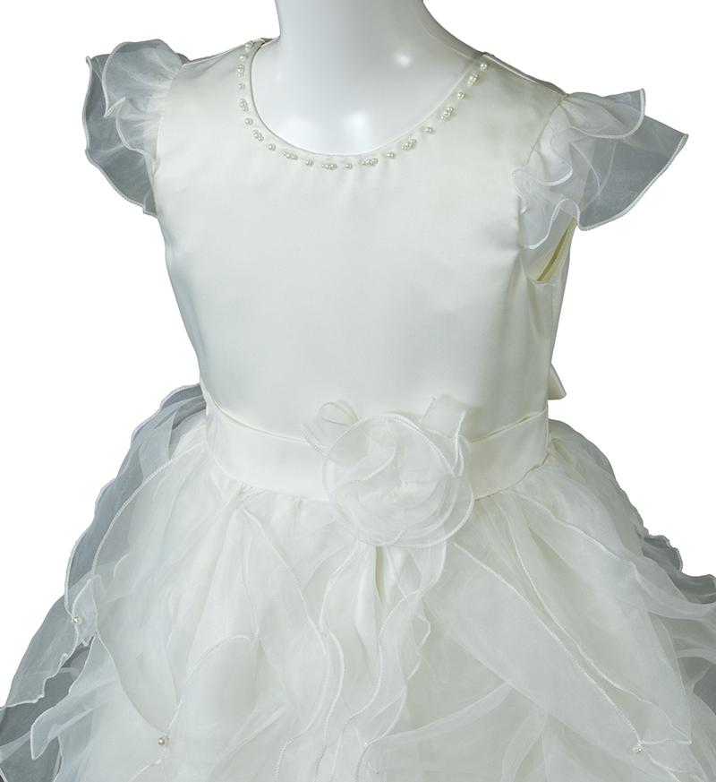 子供ドレス「サイア」ホワイト-1