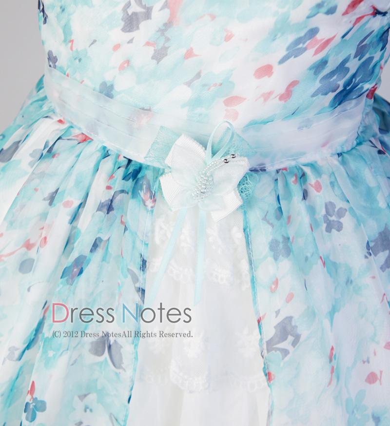 子供ドレス「ソフィ」 ブルー B1028-2