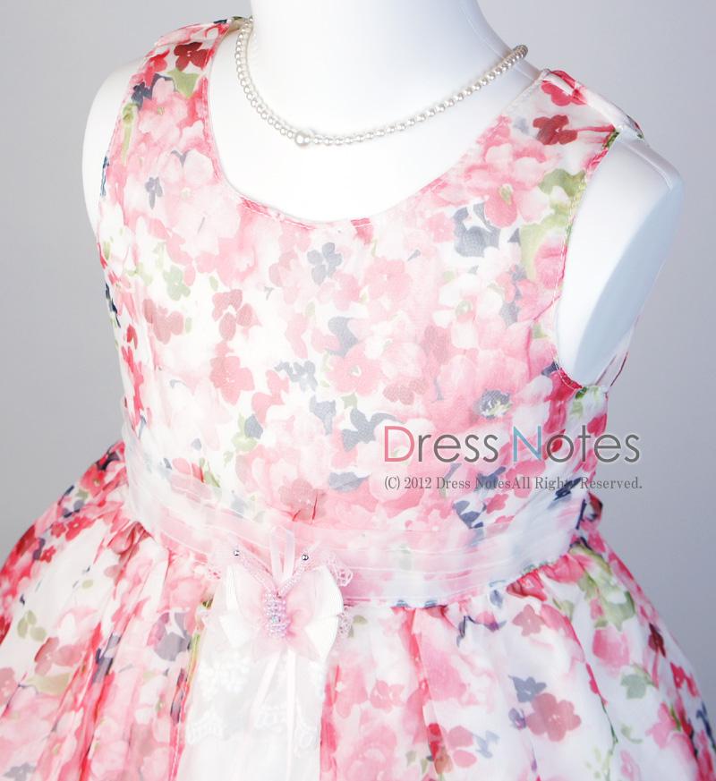 子供ドレス「ソフィ」 ピンク B1027-2