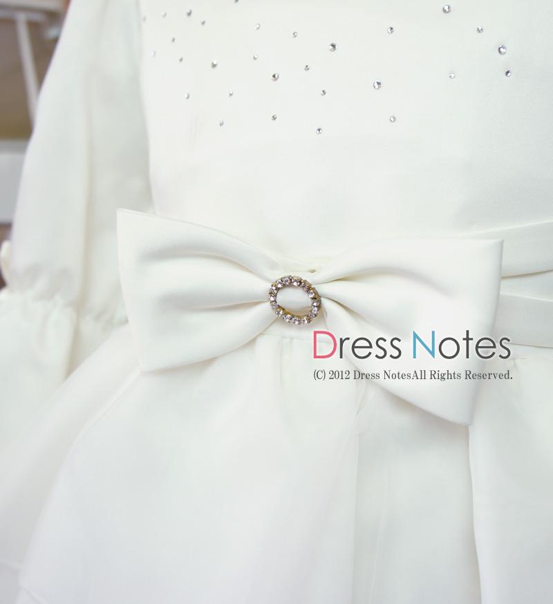子供ドレス「メレンゲ」ホワイト A8003-2