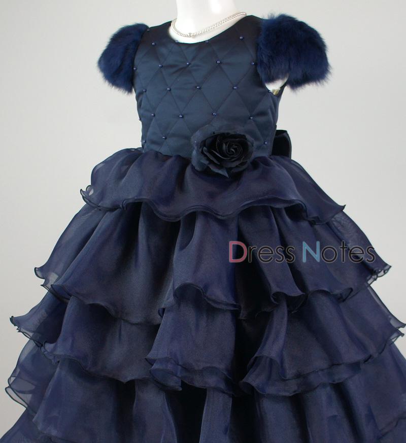 子供ドレス「カンタータ」 ネイビー D8005-5
