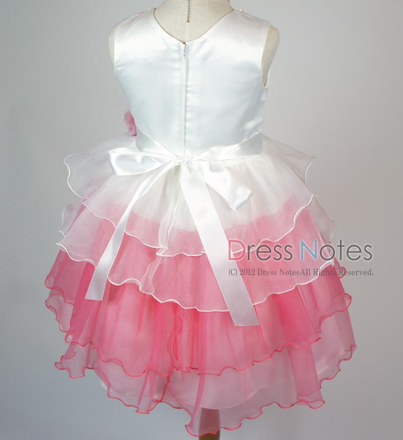 子供ドレス「アリア」ピンク D8006-6