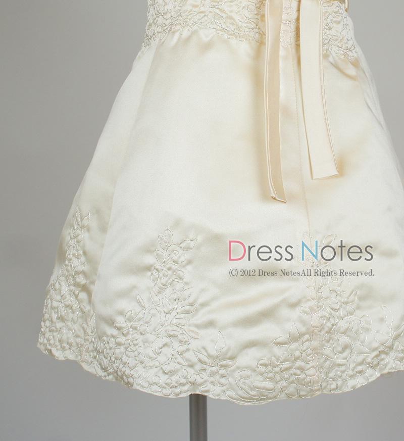 子供ドレス「オラトリオ」アンティックホワイト D8009-4