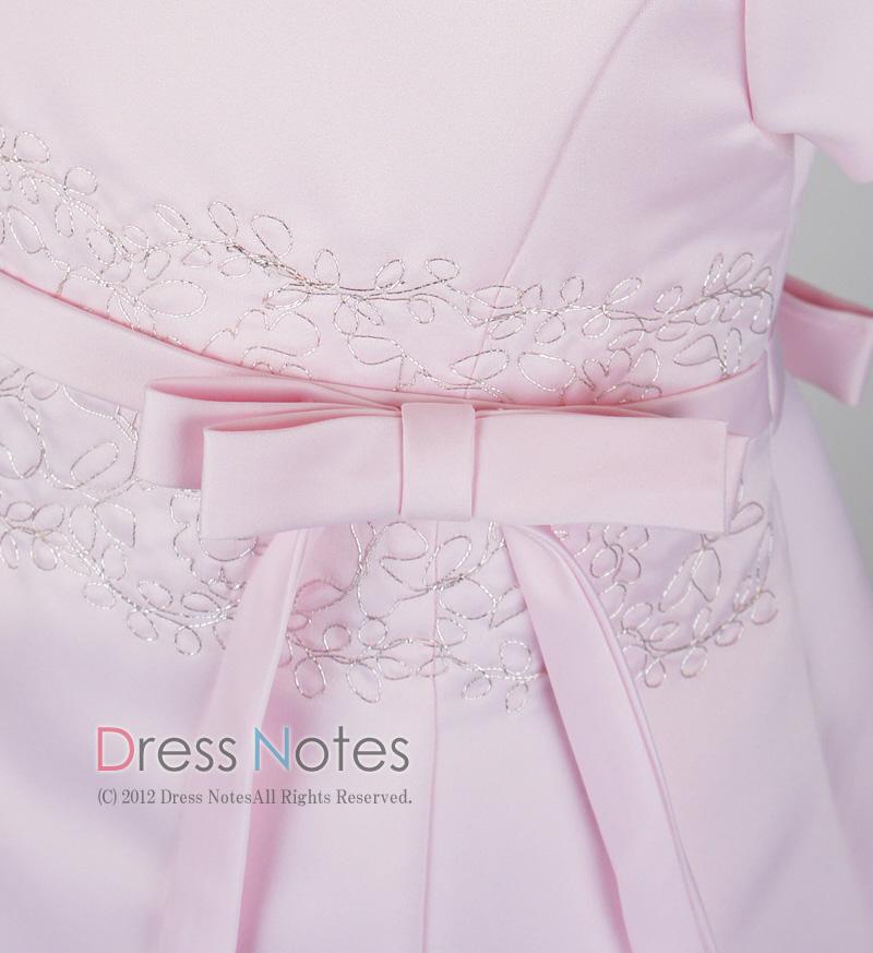 子供ドレス「オラトリオ」ピンク D8010-2